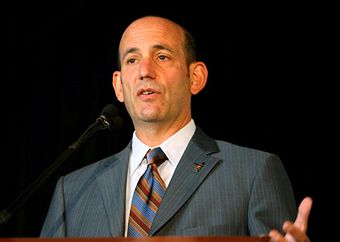 Don Garber is set for a raise. (Getty Images)
