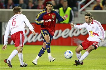 Can New York shut down Javier Morales and RSL? (Getty Images)