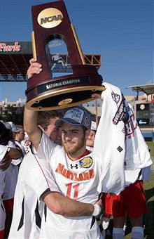 Graham Zusi leads Maryland to another National Title. (Getty Images)