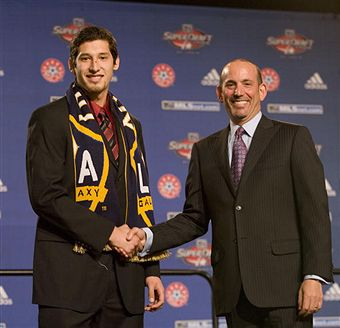 Omar Gonzalez will join David Beckham in LA after being selected third overall. (Getty Images)