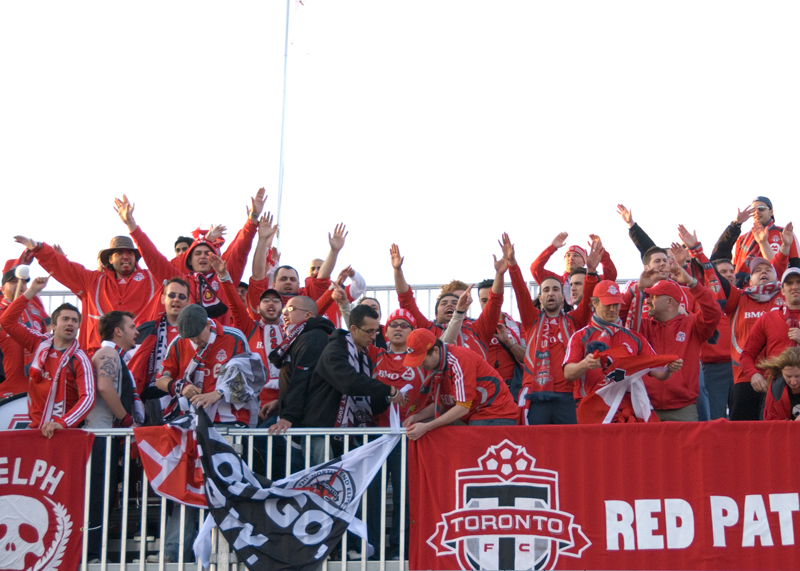 A nice group of TFC supporters decended on KC. (Brian Stevens, WVH Photo Correspondent)