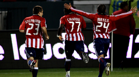 Chivas continues to lead the way.  (Getty Images)