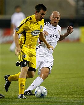 RSL hosts Columbus in a big time clash tonight. (Getty Images)