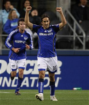 Josh Wolff and KC left Seattle with three points. (Getty Images)
