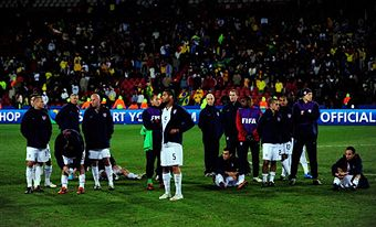 Disappointing yes, but proud of the US national team nonetheless. (Getty Images)