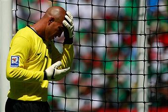 Tim Howard did his best but it wasn't enough. (Getty Images)