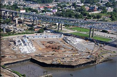 Chester Stadium currently under construction. (Photo via Philadelphia Union)