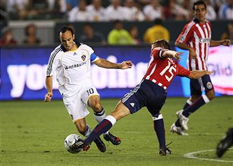 We get our first SuperClasico playoff edition in 2009. (Getty Images)