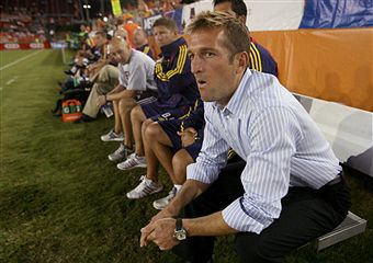 Jason Kreis and RSL need a win tonight to stay in playoff contention. (Getty Images)