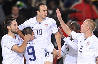 Landon Donovan continues to impress. (Getty Images)
