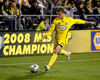 Will Robbie Rogers lead Columbus to a second straight Supporter's Shield? (Getty Images)