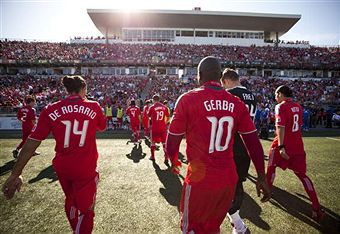 BMO Field finally turned into a fortress in 2009. (Getty Images)