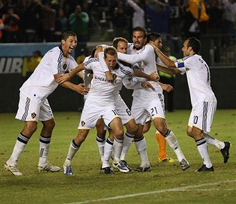 The mix of young and old make the Galaxy a tough team to figure out for the expansion draft. (Getty Images)