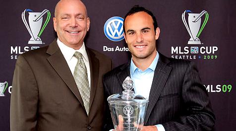 Landon Donovan was named the 2009 MLS MVP. (LA Galaxy)