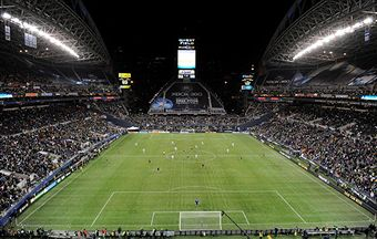 Qwest Field will be packed for tonight's opener. (Getty Images)