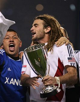 Kyle Beckerman and RSL are going to MLS Cup 2009. (Getty Images)