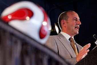 Don Garber and the league need to resolve the CBA quickly. (Getty Images)