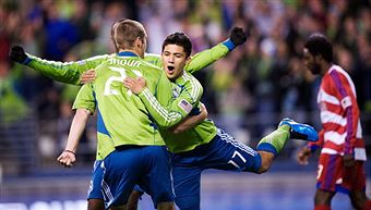 Freddy Montero and the Seattle Sounders should have a lot to celebrate in 2010. (Getty Images)