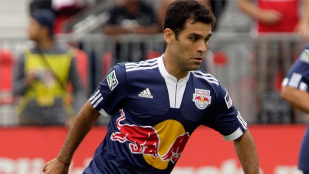 Rafa Marquez will miss a big MLS match against RSL this weekend. (Getty Images)
