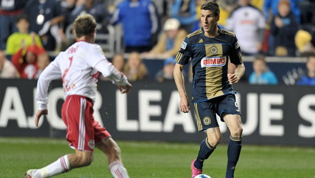 Sebastien Le Toux will be back in the Union colors in 2013. (Getty Images)