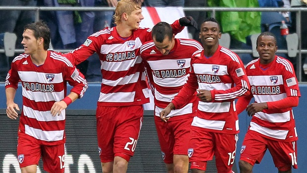 FC Dallas hopes to finish may with a win over their rivals Houston. (Getty Images)