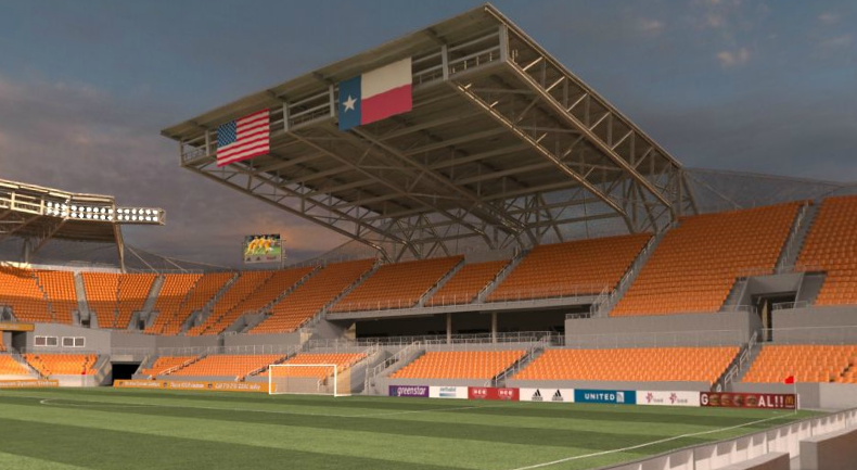 Virtual Look At Houston Dynamo Stadium | WVHooligan com – MLS Blog