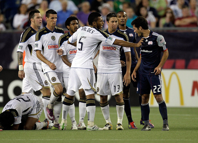 Benny Feilhaber (right) didn't let too many teams push him around. (Getty Images)