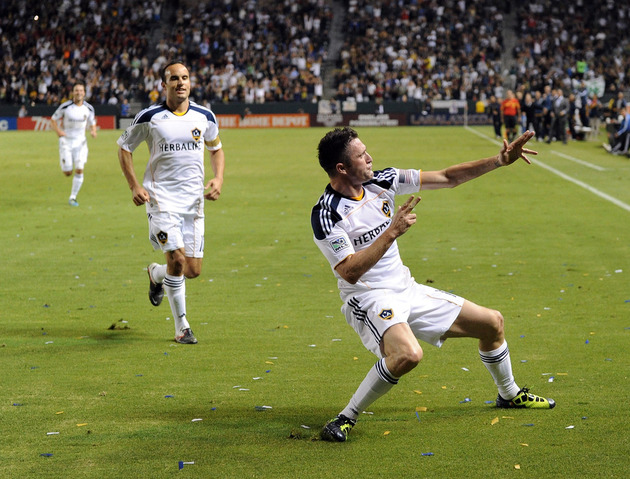 The LA Galaxy control their own destiny at the moment. (Getty Images)