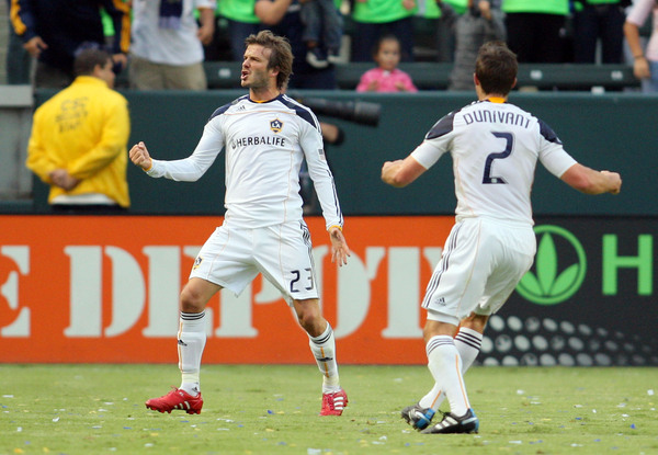 David Beckham is being courted yet again by Tottenham. (Getty Images)