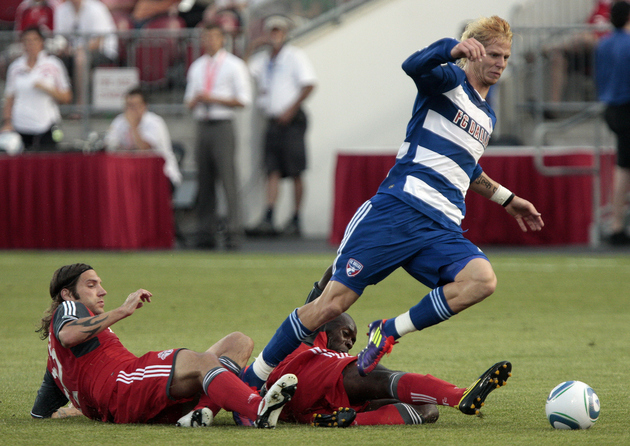 FC Dallas and Toronto FC met yet again this season tonight in the CCL. (Getty Images)