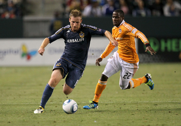 LA and Houston battle in the 2011 MLS Cup this weekend. (Getty Images)