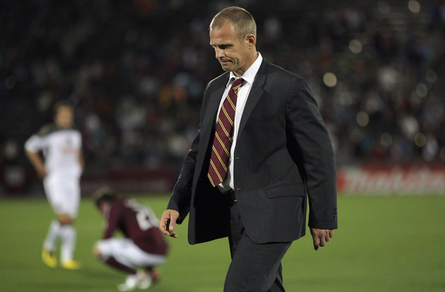 Gary Smith is now out as head coach of the Colorado Rapids. (Getty Images)