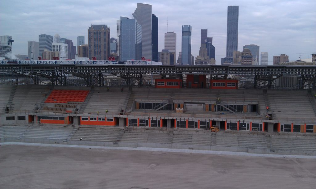 Orange Seats + Houston Skyline = Dynamo Bliss | WVHooligan com – MLS