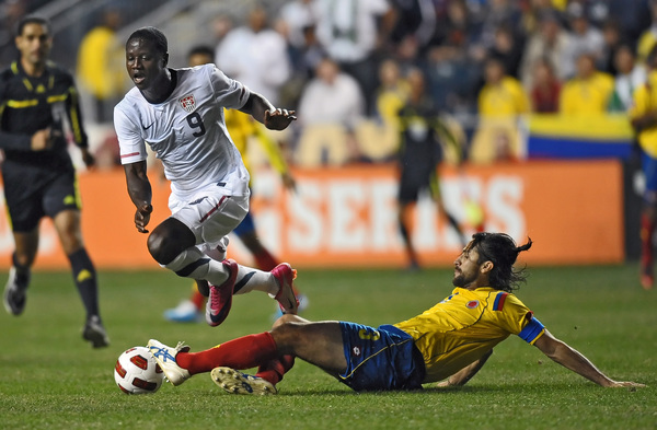 Eddie Johnson is coming back to MLS. (Getty Images)