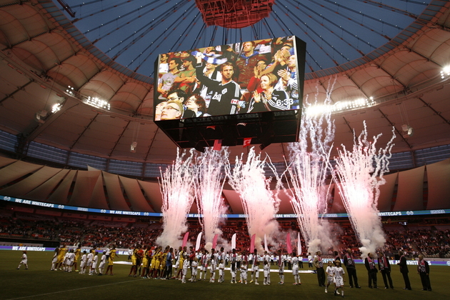 BC Place will be rocking for the season opener. (Getty Images)