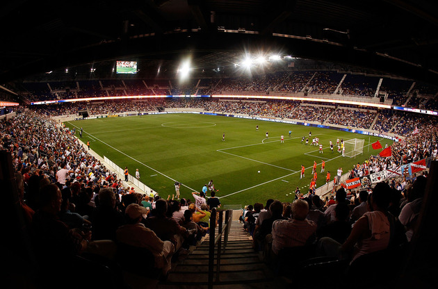 Red Bull Arena should be lively on Sunday. (Getty Images)