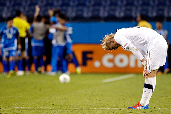 Brek Shea is leaving Dallas, so now what?. (AP Photo/Mark Humphrey)