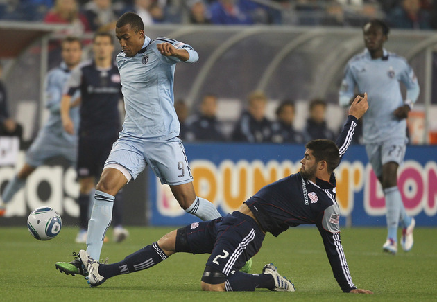 Sporting KC will look to extend their Eastern Conference lead this weekend. (Getty Images)