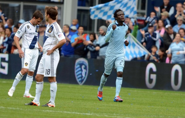 Kei Kamara could be on his way to England. (Getty Images)