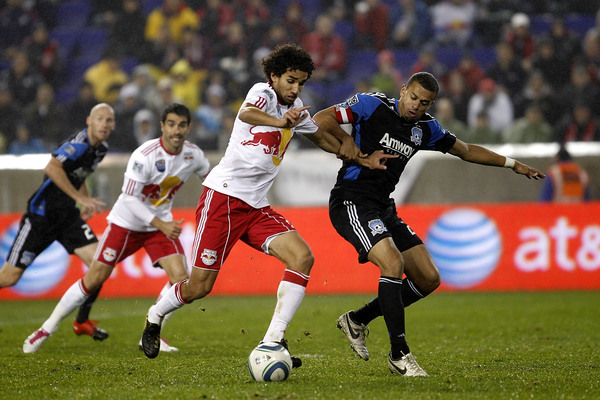 All eyes will be in SKC-RSL but SJ-NY could be just as good this weekend. (Getty Images)