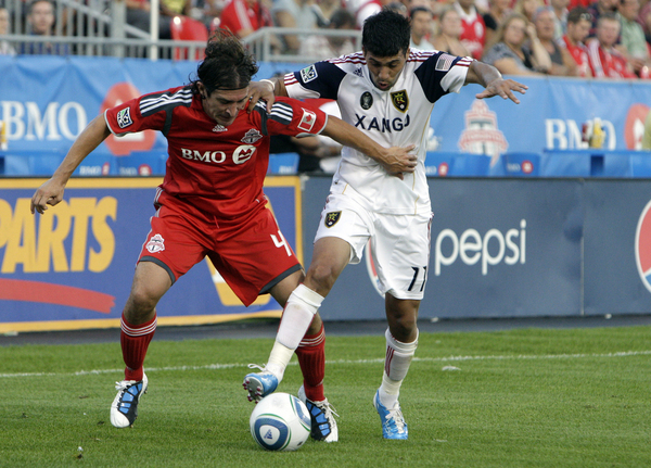 RSL and TFC hope to end some winless runs this weekend. (Getty Images)