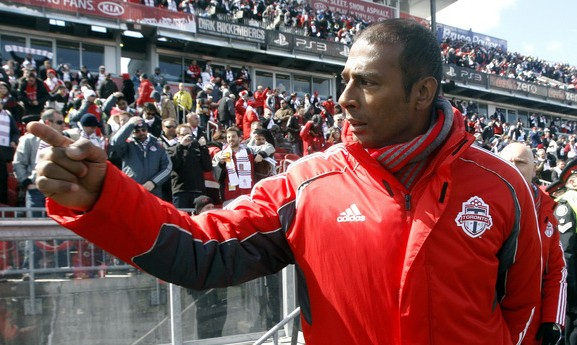 Aron Winter and Toronto FC are hoping to get their season back on track this weekend. (Getty Images)
