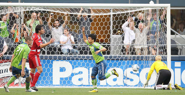 Fredy Montero has been loaned out for 2013. (Getty Images)