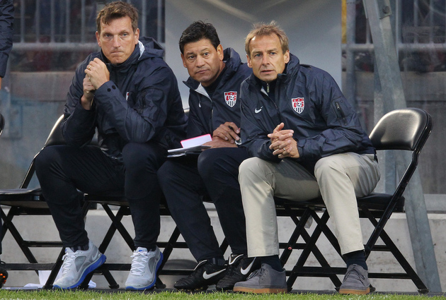 Jurgen Klinsmann said it was OK last night. (Getty Images)