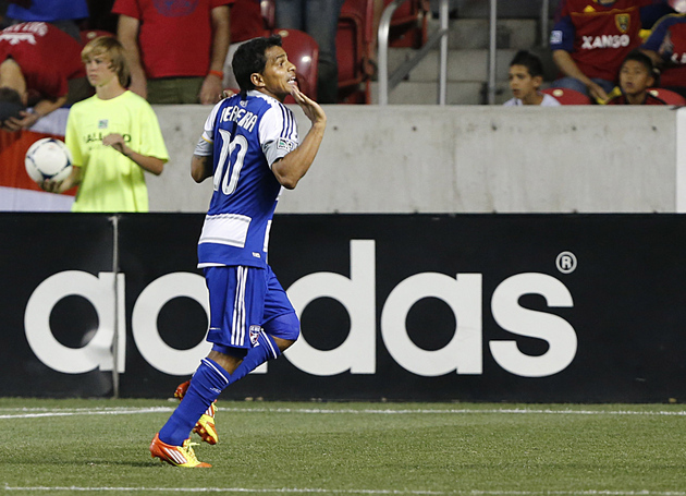 David Ferreira and FC Dallas are putting pressure on the rest of the Western Conference. (Getty Images)
