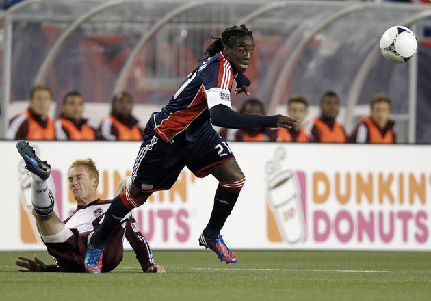 Shalrie Joseph is set to move to the West Coast with Chivas USA. (Getty Images)