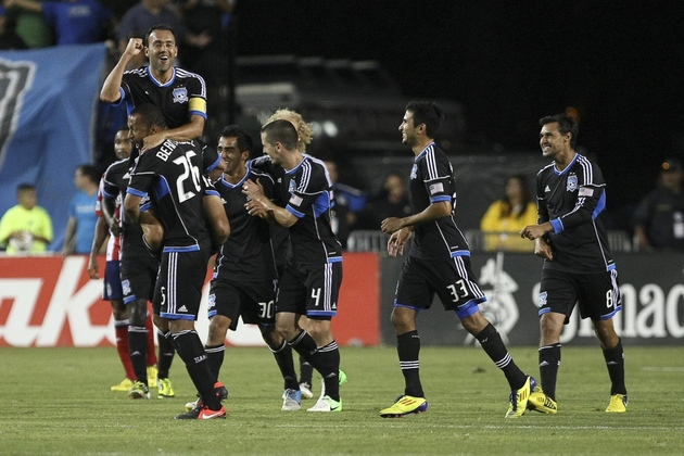 The Supporters' Shield is San Jose's to lose at this point. (US Presswire)
