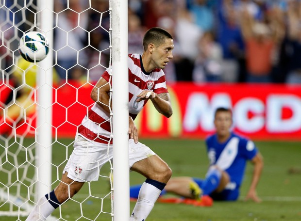 Clint Dempsey and the US are moving on. (Getty Images)