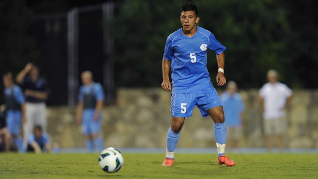 Mikey Lopez is one of the most MLS-ready players in college right now. (Photo by Jeffrey A. Camarati/UNC Communications)