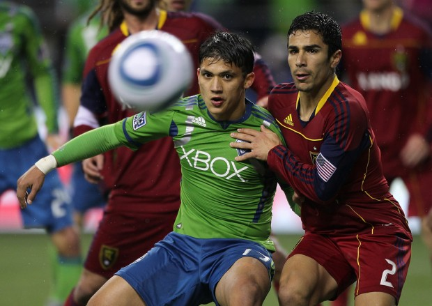 Seattle and RSL look to be one of the best series in this year's playoffs. (Getty Images)